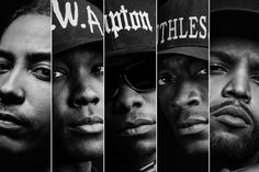 Straight Outta Compton, directed F. Gary Gray, made its silver screen debut this weekend. The film stars O'Shea Jackson Jr., Corey Hawkins, and Jason Mitchell as Ice Cube, Dr. Dre, and Eazy-E respectively.