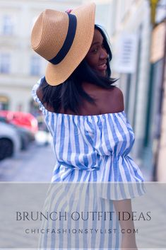 Going for brunch on a sunny day? Check out our tips on What to wear for brunch. Use your hat to add the edge to your brunch outfit. Brunch Outfit, Red Sandals, Fashion Blogs, Beach Day, Put On, Sunny Days, Sustainable Fashion, Sunnies, What To Wear