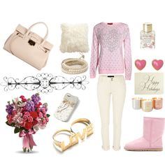 """Pink paradise"" by fossil0809 on Polyvore"