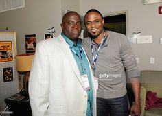 Gary Anthony Williams and Wayne Brady attend the L.A. Comedy Shorts Film Festival -'Famous People Talkin' About Sh*t' Panel at Downtown Independent Theatre on April 9, 2011 in Los Angeles, California.