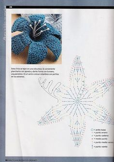 lily crochet pattern - crafts ideas - crafts for kids
