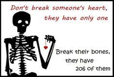 break bone