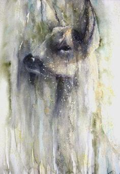 Sandra Binney | WATERCOLOR | Roe in Green
