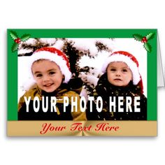 20% - 70% OFF + FREE SHIPPING Sale Code: CYBERMONRTRN Ends 12-05-2016: Your Name or Text and PHOTO Christmas Cards in Bulk or buy just One. CLICK: http://giftsforcreativepeople.com/PHOTO-Christmas-Cards-CLICKHERE  Best Picture Christmas Cards online. Personalized Christmas Cards with YOUR Christmas Oicture. See thousands of Little Linda Pinda Designs HERE: http://www.Zazzle.com/LittleLindaPinda