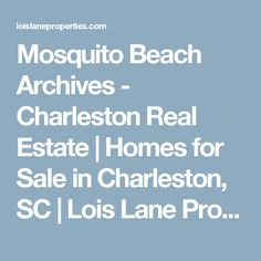 Mosquito Beach Archives - Charleston Real Estate | Homes for Sale in Charleston, SC | Lois Lane Properties