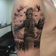 Tattoo Scarecrow Forearm