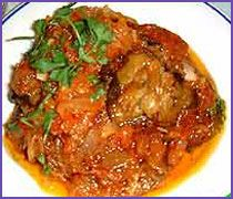 Lamb In a Red Gravy