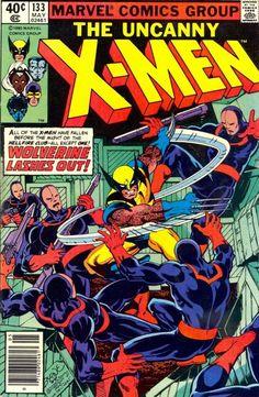 X-Men 133.