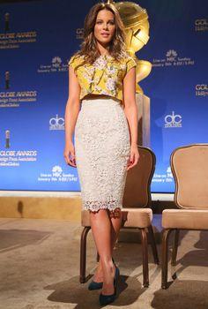 12/11 #ケイト・ベッキンセイル Golden Globe Awards Nominees  海外セレブ最新画像・私服ファッション・着用ブランドまとめてチェック DailyCelebrityDiary*