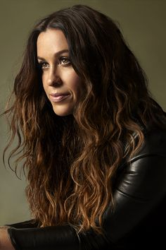 "Alanis Morissette for PAPER Magazine's ""Use Your Voice"" story, summer 2015 issue. Photograph by Albert Sanchez."