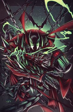 Knight Spawn Prints by RobDuenas on DeviantArt Spawn Characters, Comic Book Characters, Comic Character, Comic Books, Spawn Comics, Service Secret, Image Comics, Marvel Art, Dark Horse