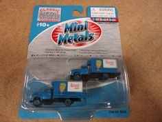 Classic Metal Works Pair of Hamms Beer Box Trucks N Scale | eBay.   Sold for $6.95  plus $5.95 S&H