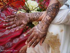 Dulhan bridal mehndi by HennaLounge, via Flickr