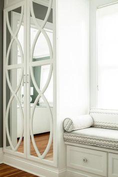 Stylish Built-In Wardrobe in Master Bedroom