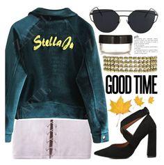 """""""Velvet jacket, velvet love"""" by pastelneon ❤ liked on Polyvore"""