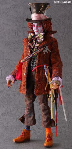 Alice im Wunderland: Hutmacher (Johnny Depp), Fertig-Modell ... http://spaceart.de/produkte/awl001.php