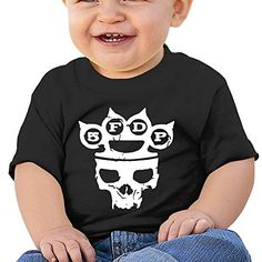 Atoggg Infants Toddlers Babys Five Finger Death Punch Logo T Shirts For 624 Months >>> Read more at the image link.