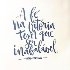 A fé na vitória tem que ser inabalável #orappa #musica #music #frases #caligrafia #freehand #typespire #goodtype #type #thedailytype #handlettering #lettering #typography #calligraphy #calligraphymasters #typeveryday #handmadefont #50words #design #handmade #art #customtype #handtype #inspiration #typism #graphicdesign #typostrate #followme #brushpen #poster