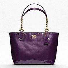 Madison Purple Tote