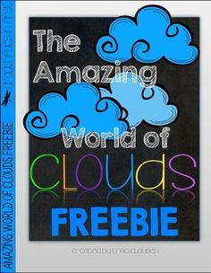 CLOUDS ACTIVITY FREEBIE - THE AMAZING WORLD OF CLOUDS - TeachersPayTeachers.com