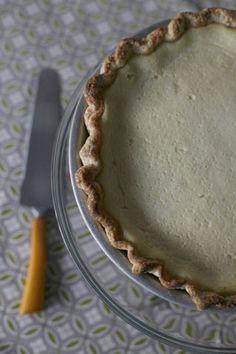 Cardamom-Buttermilk Pie