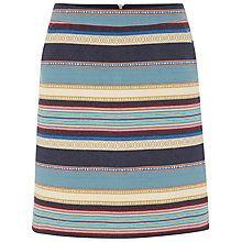 White Stuff Ikat Stripe Skirt