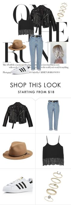 """""""Be The One"""" by agnesegundega on Polyvore featuring Nasty Gal, River Island, rag & bone, Monki, adidas and Miss Selfridge"""