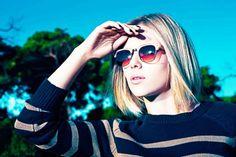 Scarlett Johansson. Want those sunglasses