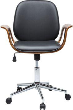 Patron bureaustoel walnoot - Kare Design