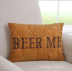 Man Cave Gifts - Beer Me