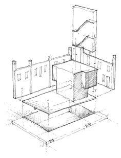 Volland General Store,Sketch