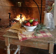 The Country Farm Home: Warm and Cozy