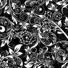 black and white pattern - istock.com