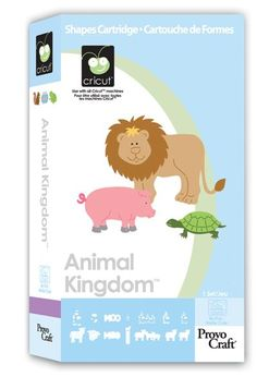 Cricut® Animal Kingdom Cartridge - Cricut Shop $29.99  http://main.cricut.com/shopping/detail--Cricut-Animal-Kingdom-Cartridge-0-19.aspx