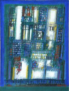 São Mamede - Art Gallery  Cargaleiro Sem Título 1990 Gouache x Paper 41 cm x 31 cm