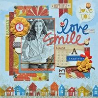A Project by Lisa Swift from our Scrapbooking Gallery originally submitted 10/09/13 at 07:14 AM  all fall collection