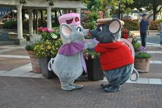 Bernard and Bianca, I would LOVE to see them at the parks! So cute!