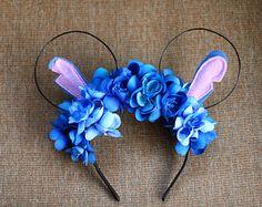 Sleeping Beauty Floral Wire Disney Ears