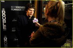 Jesse Eisenberg at the Sundance Premier of THE DOUBLE