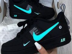 most popular nike products sneakers nike air force Cute Nike Shoes, Cute Sneakers, Sneakers Nike, Black Sneakers, Retro Nike Shoes, Sneakers Workout, Nike Shoes Blue, Winter Sneakers, Nike Shoes Outfits