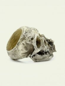 SKULL & DOWNROSE RING |  |  MACABRE GADGETS | NOT JUST A LABEL