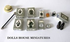 Gents accessories от JUESMINIATURES на Etsy