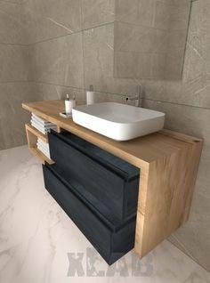 Bathroom Splashback, Bathroom Vanity Units, Houzz Bathroom, Tiny Bathrooms, Toilet Design, Bath Design, Bathroom Interior, Modern Bathroom, Summer House Garden