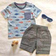 A great outfit for your little boy this summer!