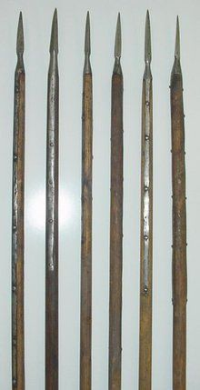 Swiss Pike, Polearm 15th/16th Century, Arsenal Marked!