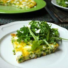 Spring Vegetable Frittata HealthyAperture.com