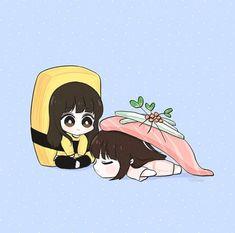 G Friend, Bff Pictures, Bts Chibi, K Idol, Kpop Fanart, Bffs, Korean Girl Groups, Cute Couples, Disney Characters