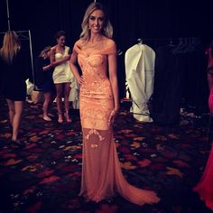 Another stunning dress made by Kadime for the Miss Australia contest, pattern by The Pattern Drafter.