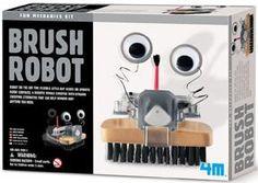 Brush Robot Kit 4M Fun Mechanics Science Project