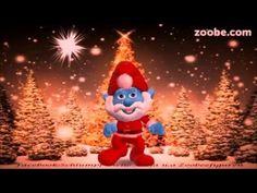 Weihnachten - Weihnachtsbaum erstrahlt im Glanz Frohes Fest Schlümpfe, Zoobe, Animation - YouTube
